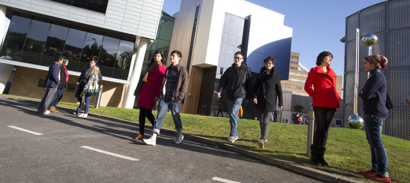 University of Huddersfield - an attractive town centre campus with a diverse student community